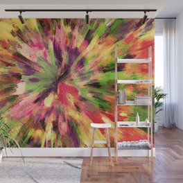 color explosion gogh pattern gosepia Wall Mural