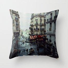 Blank Inside: Metropol Hotel Throw Pillow