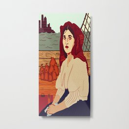A Better Life, Italian Immigrant Woman Metal Print