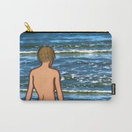 Girl in the Sea Painting Carry-All Pouch