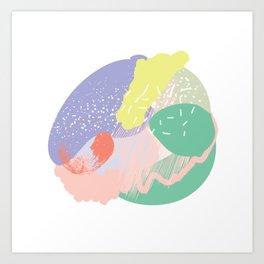 Muffin mess pt. 3 Art Print