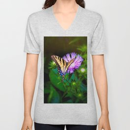 Wonders in a Micro World Unisex V-Neck