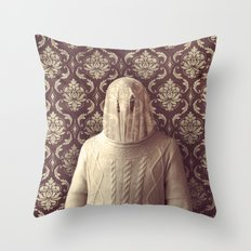 In which I spy a specter Throw Pillow