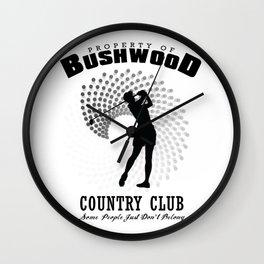 Bushwood Country Club Wall Clock