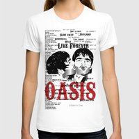 oasis T-shirts featuring Oasis by Colo Design