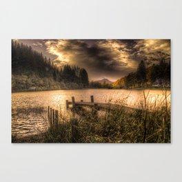 Loch Ard at Sunset Canvas Print