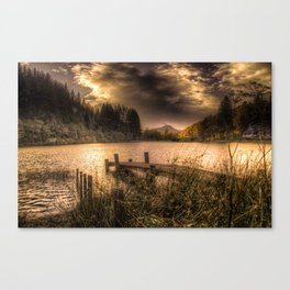 Loch Ard at Sunset Canvas Print