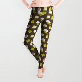 Dim sum pattern Leggings