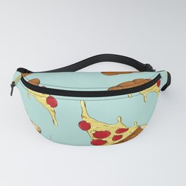 pizzas with ham Fanny Pack