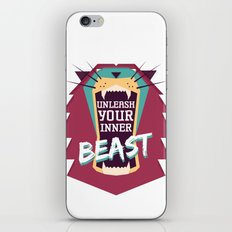 Unleash Your Inner Beast iPhone & iPod Skin