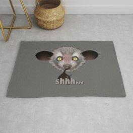 Aye-Aye Lemur Rug