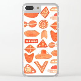 UFO Squadron Clear iPhone Case
