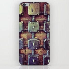 On the Grid iPhone Skin