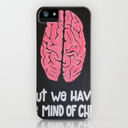 Mind of Christ iPhone Case