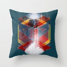 The Bottomless Tower Throw Pillow