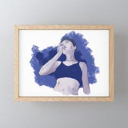 Chilling 3 Framed Mini Art Print