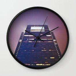 Philly Fog Wall Clock