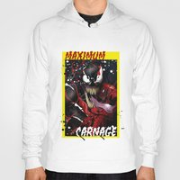 carnage Hoodies featuring Maximum Carnage by JHC Studio