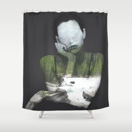 Inner Nature Shower Curtain