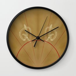 Compendium Page Wall Clock