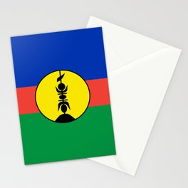 Flag of new caledonia Stationery Cards