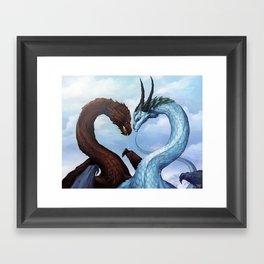 Dragon Love Framed Art Print