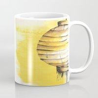 lantern Mugs featuring Lantern by Emma Stein