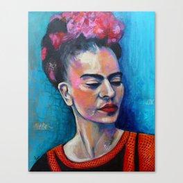 Je te ciel, hommage à Frida Kahlo Canvas Print