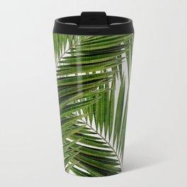 Palm Leaf III Metal Travel Mug