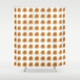 Field of Golden Sunflowers Shower Curtain
