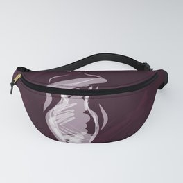 Fashion Girl Berry Fanny Pack