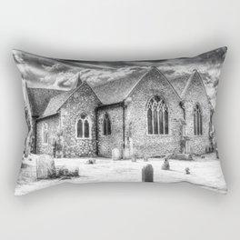 Orsett Church Essex England infrared Rectangular Pillow