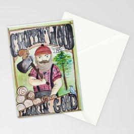Lumberjack Life Stationery Cards