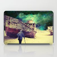 ship iPad Cases featuring Ship by Cs025
