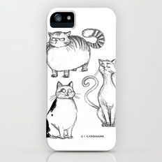 cats iPhone (5, 5s) Slim Case