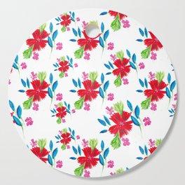 Vintage Floral Cutting Board