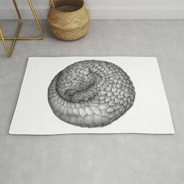 The Infinite Pangolin Rug