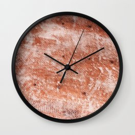 Repaired fiberglass shipboard Wall Clock