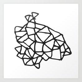 LINES_II Art Print