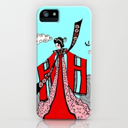 Return Of The Swallows iPhone Case