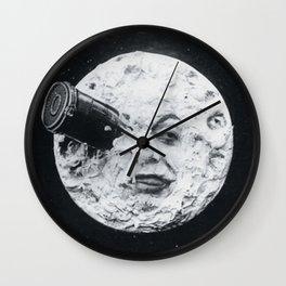 A Trip To The Moon Film Georges Méliès Wall Clock