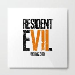 Resident Metal Print
