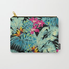 Tropical Greenery Island Dreams Carry-All Pouch