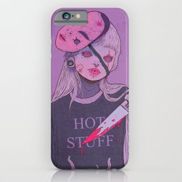 Time To Die iPhone Case