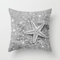 pow wow star Throw Pillow