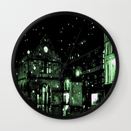 Shrewsbury in the limelight  Wall Clock