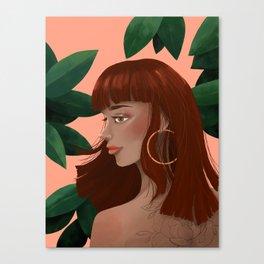 Havana Girl Canvas Print