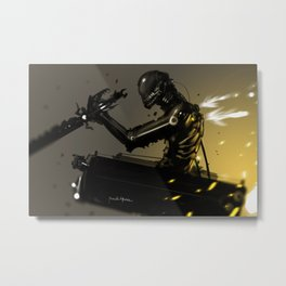 Attack on Titan Fan Art LEGION BLACK SQUAD Metal Print