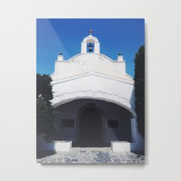 Church at port lligat Metal Print