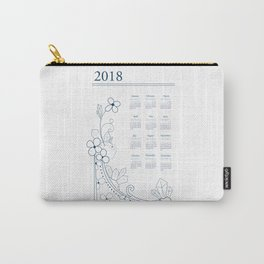 2018 Calendar Carry-All Pouch